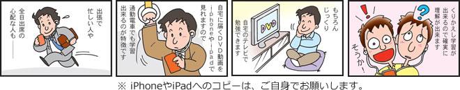 DVDのメリット